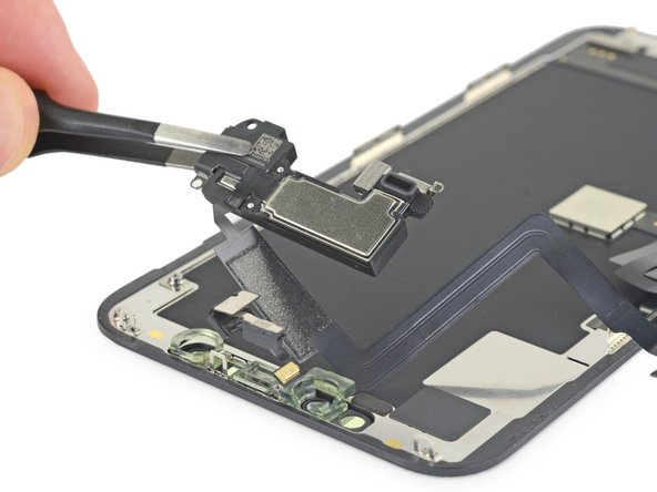 iPhone 11 Pro Earpiece Speaker and Front Sensor Assembly Replacement