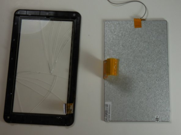 Image 2/2: Use of too much force on the screen may result in unwanted damage to screen.