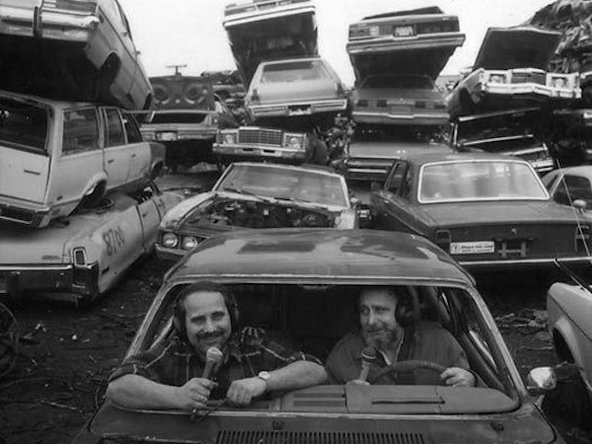 Brothers Tom and Ray Magliozzi of NPR's Car Talk