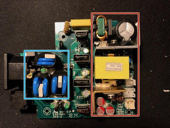 Surge suppression circuitry