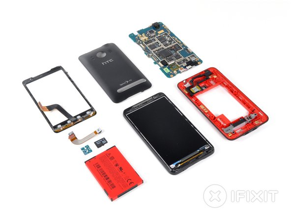 HTC Evo 4G teardown