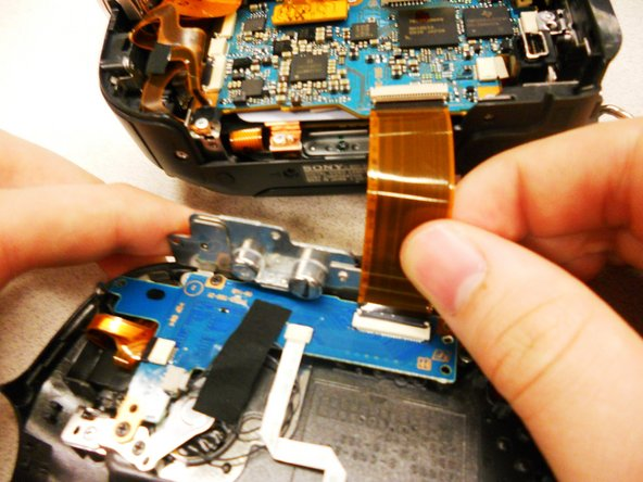 Sony Handycam DCR-DVD103 LCD Screen Replacement