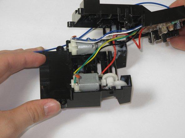 Geardup RC Ford Mustang GT Motor/Circuit Board Enclosure