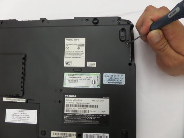 Toshiba Satellite M35X-S114 Hard Drive Replacement