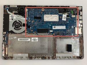 HP Pavilion x360 14m-ba114dx Motherboard Replacement