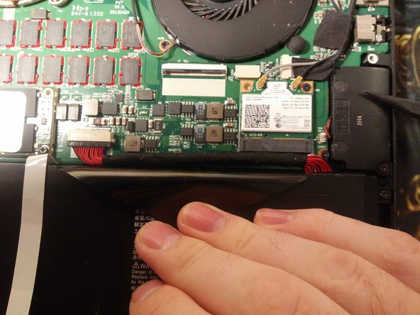 Image 1/3: Bend the connector backwards to prevent it from getting in the way of the motherboard.
