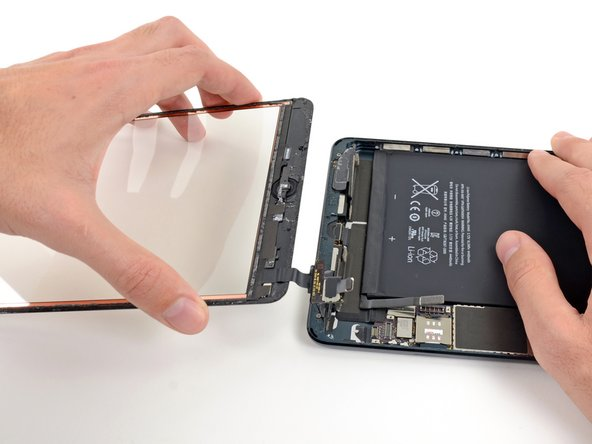 iPad Mini Wi-Fi Front Panel Assembly Replacement