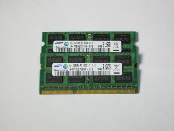 Toshiba Satellite L675D-S7016 RAM Replacement