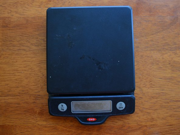 Oxo 5lb Digital Kitchen Scale Faulty Button Replacement