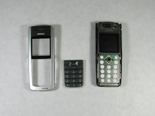 Disassembling Nokia 6236i Keypad