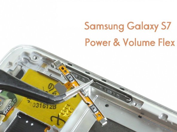 Samsung Galaxy S7 Power/Volume Button Flex Replacement