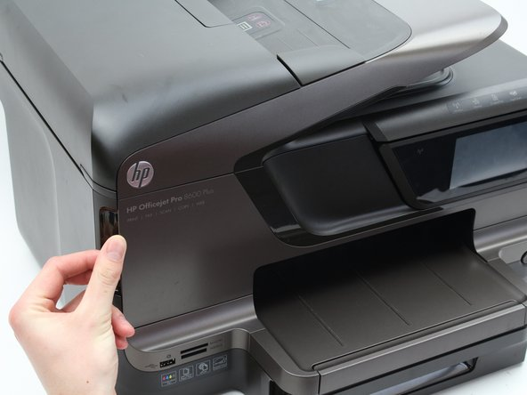 HP Officejet Pro 8600 Plus Front Panel Replacement
