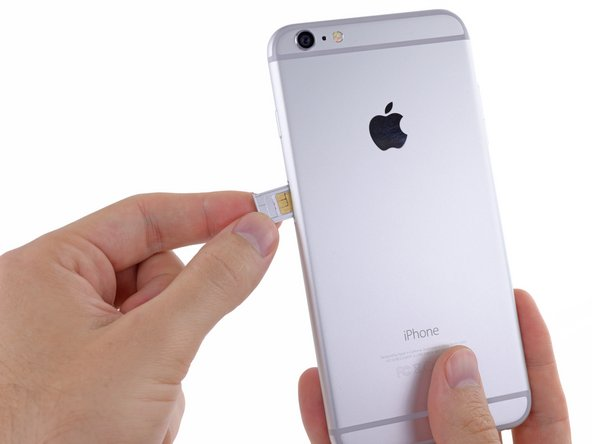 iPhone 6 Plus SIM Card Replacement