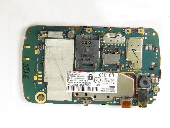 Blackberry Curve 8320 Motherboard Replacement