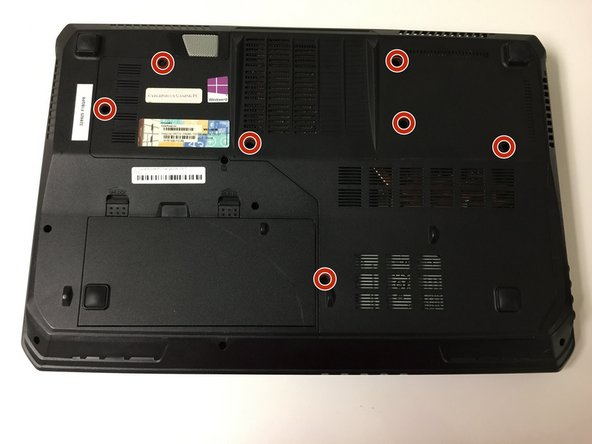 CyberPowerPC Fangbook MS-1763 Back Cover Replacement