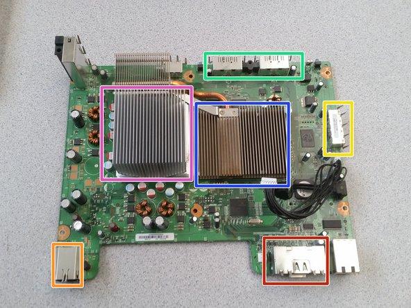 Memory card ports