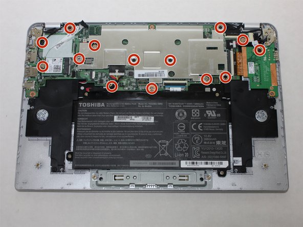 Toshiba Chromebook 2 Motherboard Replacement
