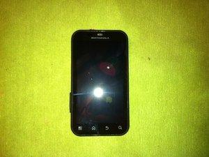 Motorola Defy Teardown