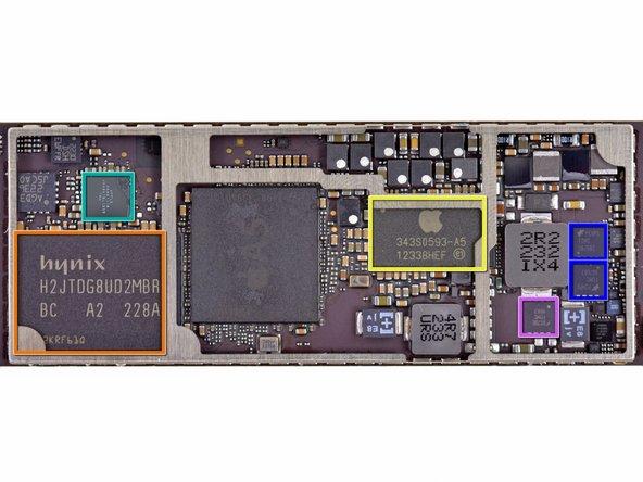 Image 2/3: Hynix H2JTDG8UD2MBR 16 GB NAND Flash