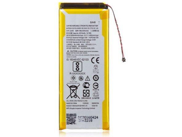 Moto G4 Plus Battery Main Image