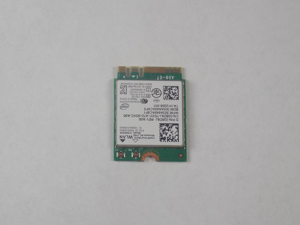 Dell Inspiron 15-7547 WiFi Card Replacement
