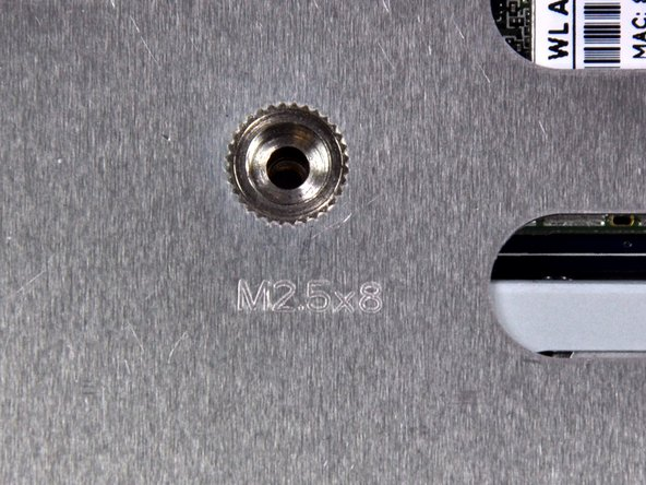 Image 3/3: For those who want a lesson in screw callouts: These screws are Metric (M), with a major diameter of the external thread of 2.5mm, and a thread length of 8mm (2.5x8).