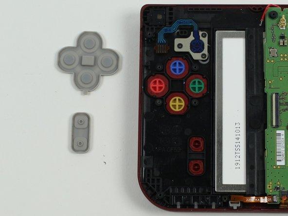Nintendo 3DS XL 2015 A,B,X,Y, Start und Selecttaste austauschen