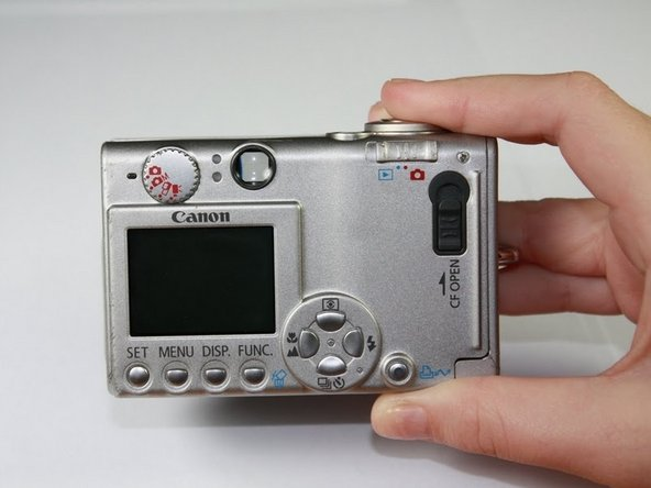 Canon PowerShot S410 Back Cover Replacement