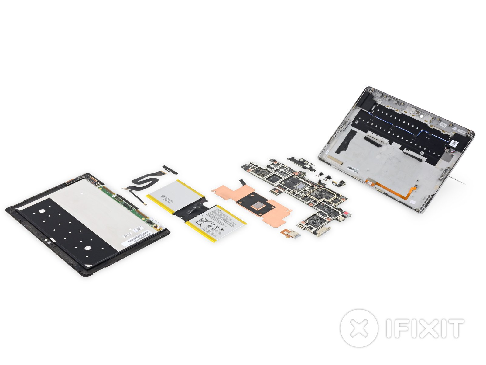 Teardown des Surface Go (iFixit)