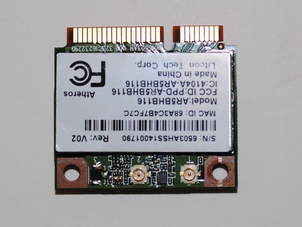 Samsung 500C ChromeBook WIreless Card Replacement