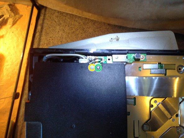 Remove long M screws