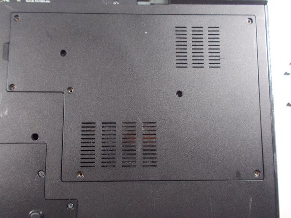Dell Vostro 1710 Back Panel Replacement