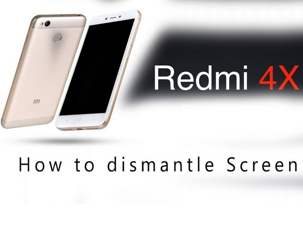 Xiaomi Redmi 4X Display replacement Replacement