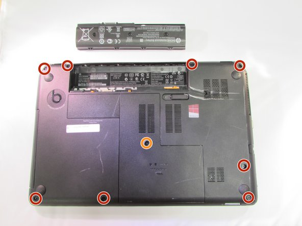 HP Envy M6-1205DX Touchpad Replacement