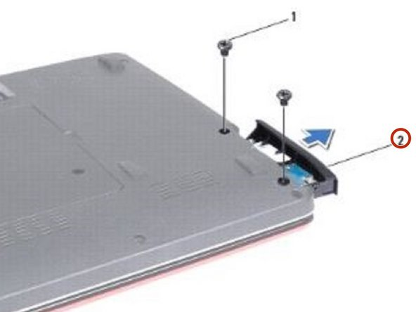 Slide the hard drive assembly into the hard drive compartment until it is fully seated.