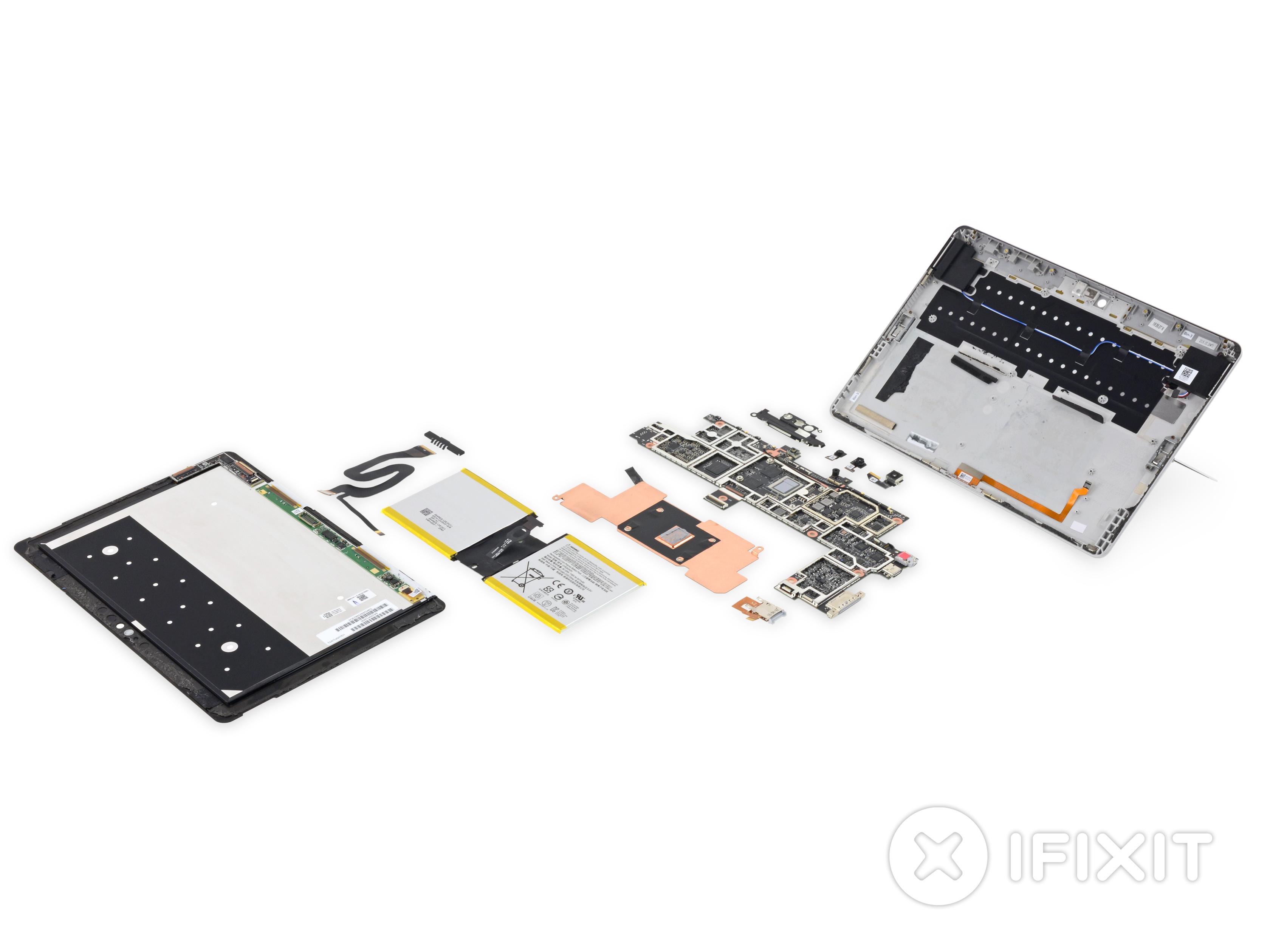 Microsoft Surface Go Teardown
