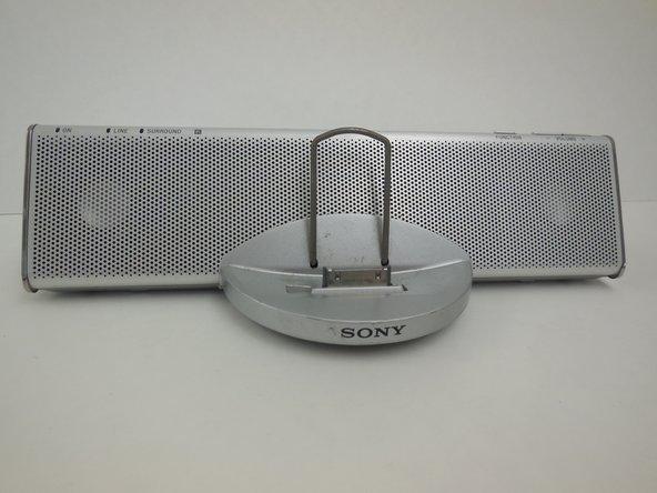 Disassembling Sony CPF-IP001 Main Speaker Housing Disassembly