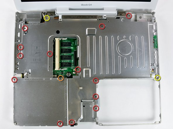 "iBook G4 14"" 1.42 GHz Top Shield Replacement"