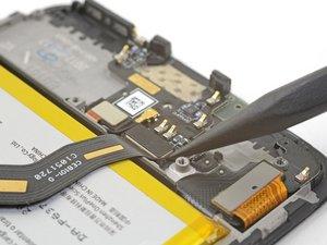 OnePlus 5 Zwischenverbindungskabel abtrennen