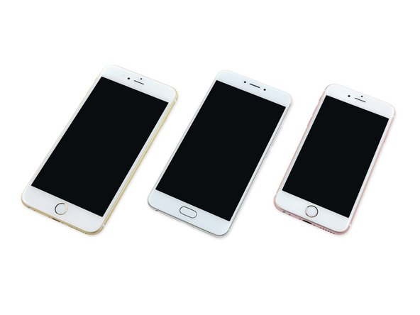 Image 2/3: It's a similar story topside. Aside from the oval home button and different side button configuration, the MX6 fits right into the iPhone lineup—what with  its metal unibody design and [http://www.androidauthority.com/what-is-a-2-5d-screen-611258|2.5D glass panel|new_window=true].