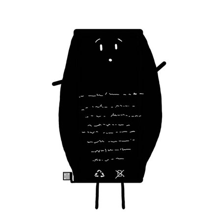 iPhone battery character