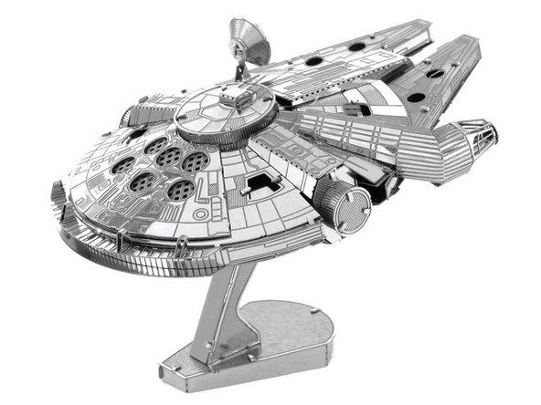3D Puzzle How to Assemble Star Wars Millennium Falcon 3D Metal Model  Replacement