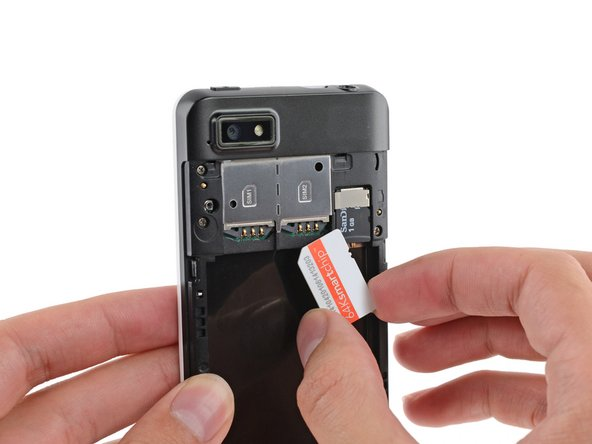 Repeat this procedure if you have a second SIM card.