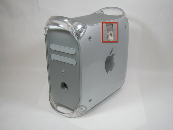 Power Mac G4 Quicksilver Case Replacement