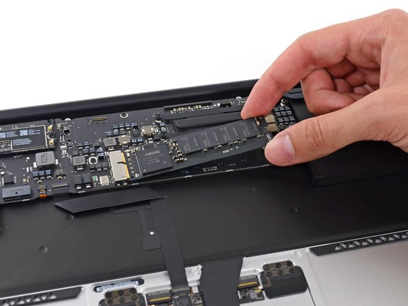 "In order to achieve flash storage that's ""up to 45 percent faster"" than the previous model, Apple switched from SATA to PCIe, and turned to its best pal in the industry: Samsung."