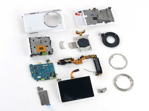 Samsung NX Mini Disassembly