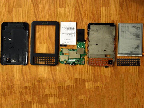 And there you have it. Very easy to disassemble but most of the parts are not replaceable, except for the screen and battery.