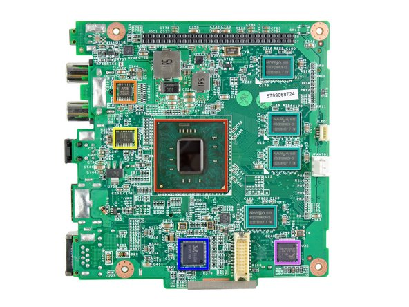 Image 1/2: Intel Atom CE4110 SOC processor