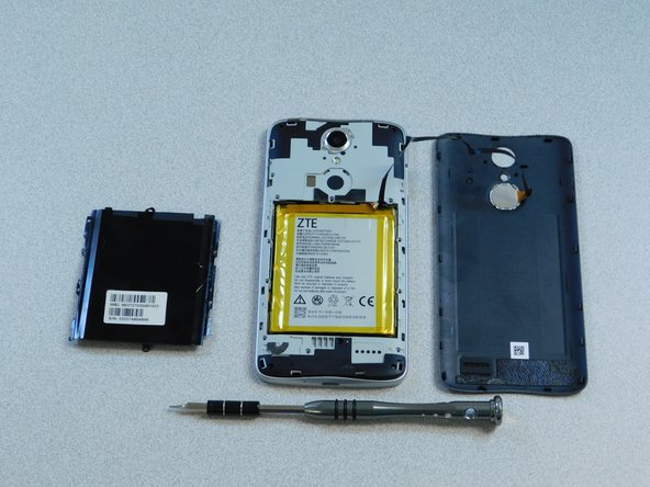 Install replacement battery: