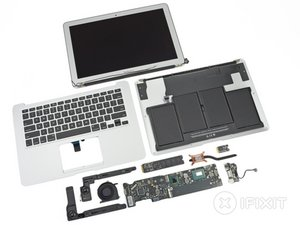 "MacBook Air 13"" Mid 2012 Teardown"